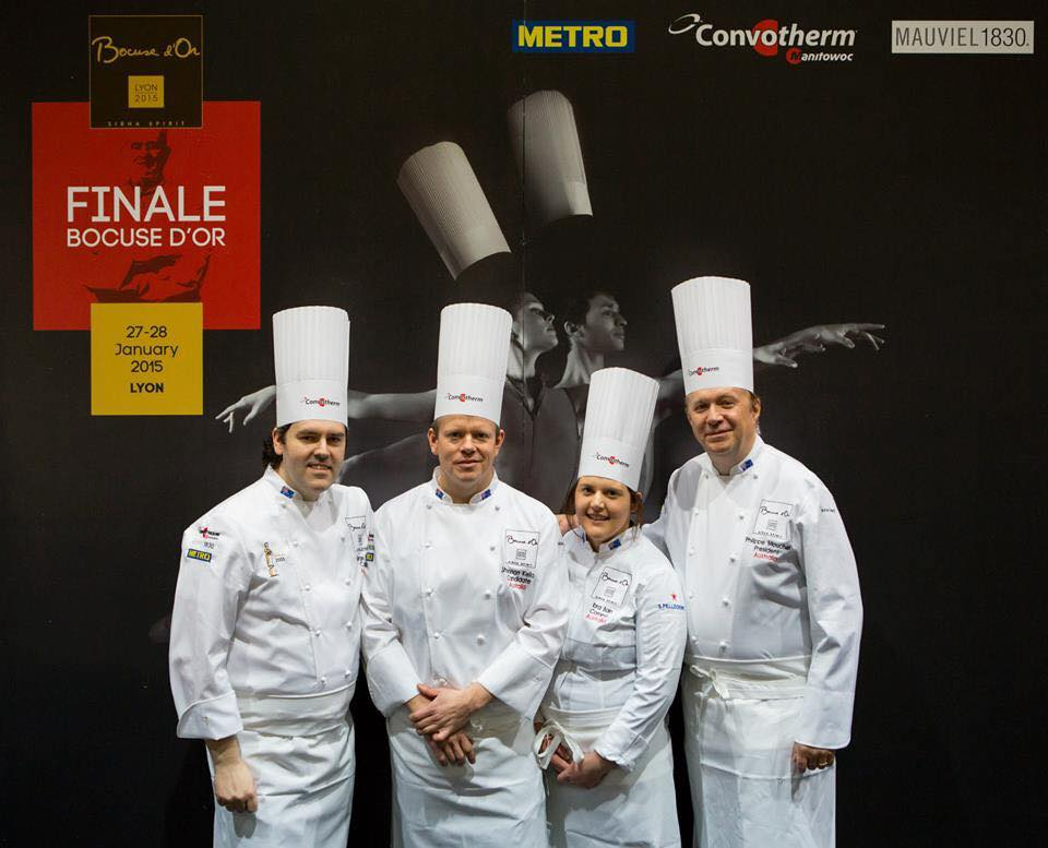 Bocuse d'Or results 2015