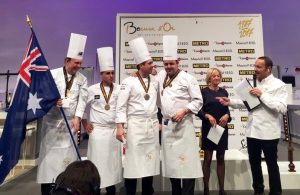 Team Australia Bocuse d'Or 2017 LR